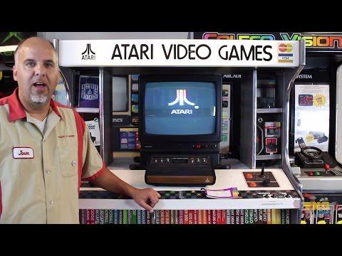 ATARI 2600 display! Trade-N-Games Kiosk collection tour - UCpgmwvOsz1FyX_BeaX5REjQ