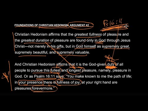 Foundations of Christian Hedonism // Part 3 // If You Refuse to Be Happy