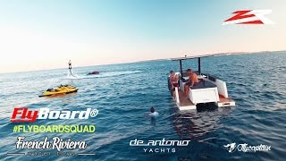 Flyboard Session in Cannes with French Champions