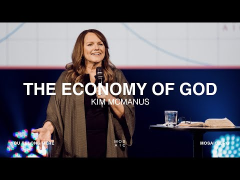 The Economy of God  Kim McManus - Mosaic