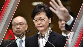 Hong Kong's Carrie Lam says she will not resign