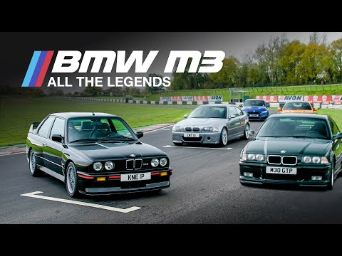 BMW M3, Which Was The Best Generation?: The M3 Masterpieces Ep.6 (FINAL EPISODE) | Carfection 4K - UCwuDqQjo53xnxWKRVfw_41w