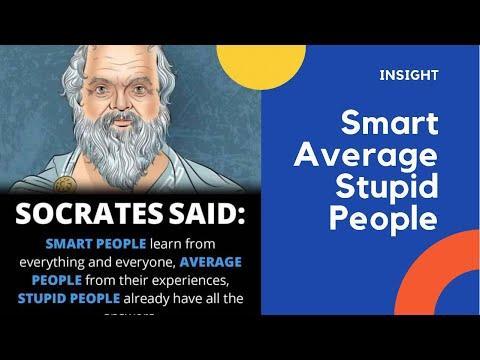 SMART - Average - stupid People