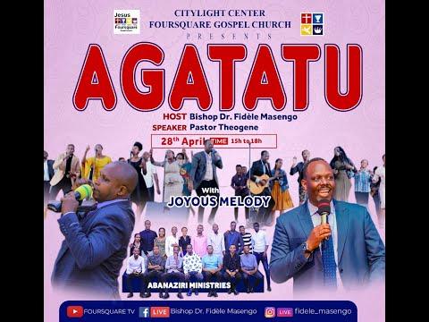 LIVE// ''AGATATU SERVICE '' Hamwe na Pastor Theogene Host Bishop Dr. Fidele MASENGO 28.04.2021