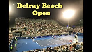 My Trip to the Delray Beach Open