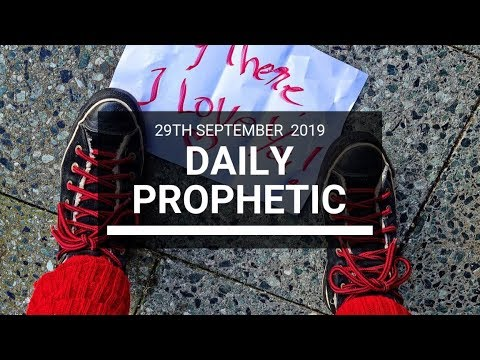 Daily Prophetic 29 September   Word 9