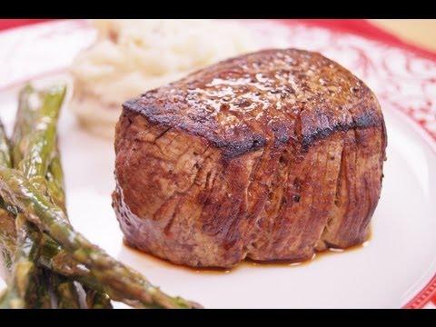 Filet Mignon: Recipe: How To Cook: Perfect Filet Mignon: BEST:Pan/Oven:Di Kometa-Dishin' With Di #45