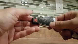 Cambiare batteria chiave Mercedes GLA
