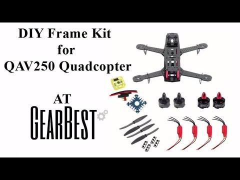 DIY Frame Kit for QAV250 Quadcopter From Gearbest - UCzEBYVzIsFCpjKh_LTFF84Q
