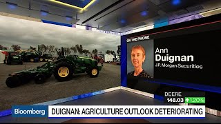 Deere in 'Perfect Storm' Prompts Downgrade by JPMorgan