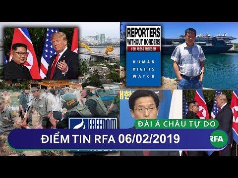Điểm tin RFA tối 06/02/2019   Việt Nam chính  thức xác nhận là địa điểm thượng đỉnh Trump - Kim