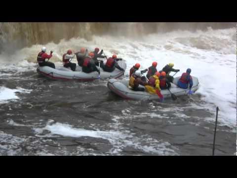 2/12 Rafting ehk parvetamine Jägala jõe