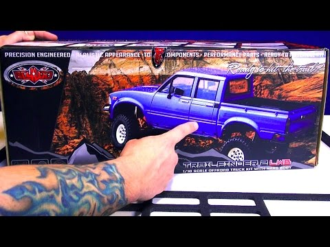 RC ADVENTURES - Full Assembly / Trail Truck 4x4 Roller! Toyota Mojave 2 - RC4WD TF2 LWB 1/10th scale - UCxcjVHL-2o3D6Q9esu05a1Q