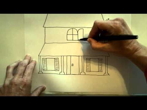 How to draw a Haunted House - UCKZcIU26AxE4J6mwUg2uBZg