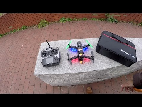 Eachine EC250 FPV Racing Quadcopter Outdoor Flight Testing - UCsFctXdFnbeoKpLefdEloEQ
