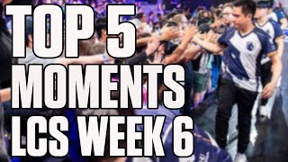 Top 5 moments from LCS Summer Split Week 6 | ESPN Esports