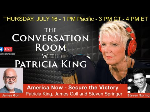 America Now - Secure The Victory // Patricia King, James Goll and Steven Springer