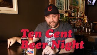 Cleveland's Ten Cent Beer Night explained by comedian Brian Kenny