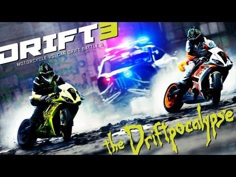 Motorcycle vs. Car Drift Battle 3 - [Full HD] - UCg1uYO329KcAEN-PQdoQMKQ