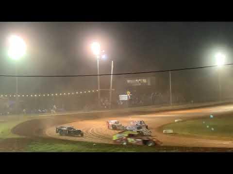 Red Dirt Raceway Sport Mod/B-Mod A-Feature 10/16/2021 Alex Wiens #10 - dirt track racing video image
