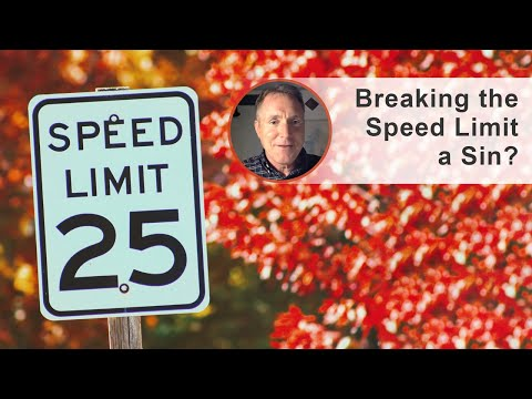 Breaking the Speed Limit a Sin? - Ask Pastor Tim