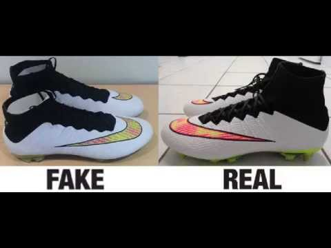 1d41c0a4c How To Spot Fake Nike Mercurial Superfly IV 4 Authentic vs Replica  Comparison