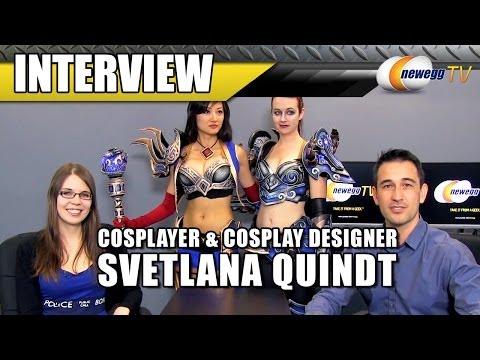 Cosplayer Svetlana Quindt Interview - Newegg TV - UCJ1rSlahM7TYWGxEscL0g7Q