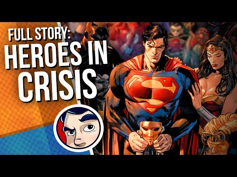 "Heroes in Crisis ""Death of the Flash"" - Full Story 