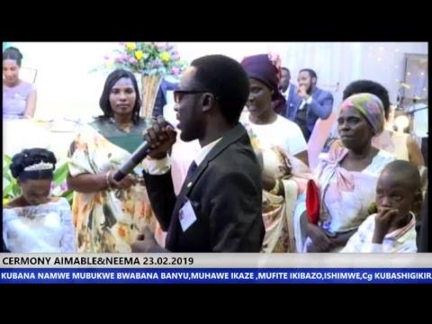 LIVE  CERMONY NKUNDA AIMABLE&NEEMA UWIMANA