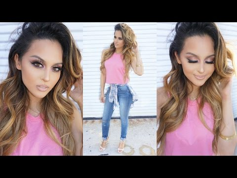 Everyday Glam Makeup & Outfit Tutorial - UCXTAdFsBmxNK3_c8MUvSviQ