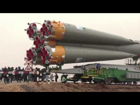 Expedition 27 Crew Prepares for Launch as their Soyuz Rocket Move to Launch Pad - UCLA_DiR1FfKNvjuUpBHmylQ
