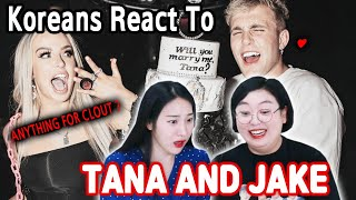 Koreans in their 30s React To Tana and Jake