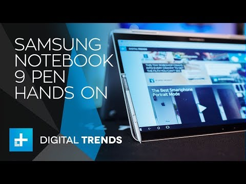 Samsung Notebook 9 Pen - Hands On Review - UC8wXC0ZCfGt3HaVLy_fdTQw