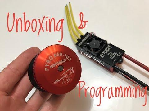 Unboxing & Programming - Kontronik - Kolibri 140 LV - Pyro 650  103 - UCCA_SwINpde9mbB1zCWF0Vg