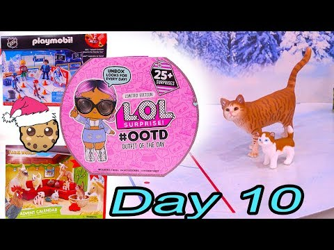 Day 10 ! LOL Surprise - Playmobil - Schleich Animals Christmas Advent Calendar - Cookie Swirl C - UCelMeixAOTs2OQAAi9wU8-g