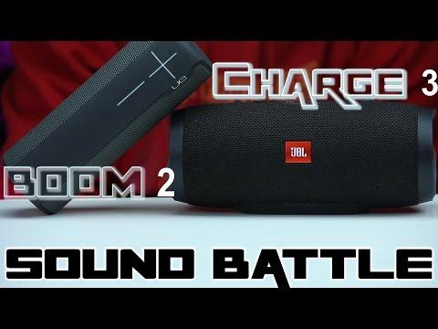 SOUND BATTLE UE Boom 2 vs Charge 3 - The real sound comparison. - UCERaE187ThYiZtjokJ0QVUQ