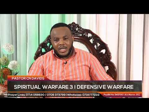 SPIRITUAL WARFARE (PART 3) I DEFENSIVE WARFARE