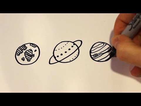 How to Draw Cartoon Planets - UCqotFSqYXdPcswIjguZOd8A