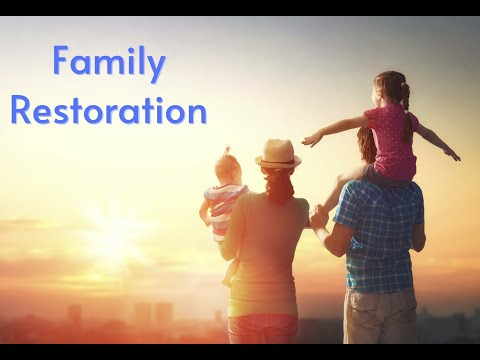 God Wants to Restore Your Family  Prophetic Declaration Rev. Heather Curnew