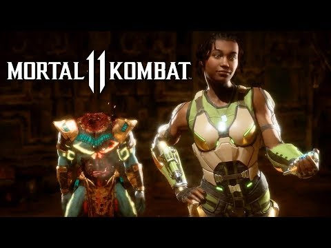 Mortal Kombat 11 – Official Kotal Kahn And Jacqui Briggs Reveal Trailer - UCUnRn1f78foyP26XGkRfWsA