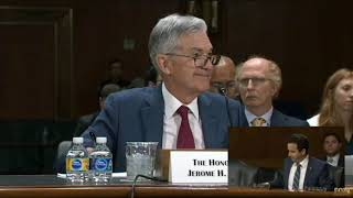 Fed Chair Jerome Powell on Libra and Crypto - July 11th 2019