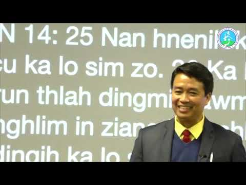 Sermon: Khrih ah lungawinak kim by Pastor Hre Mang
