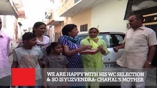 We Are Happy With His Wc Selection & So Is Yuzvendra- Chahal's Mother