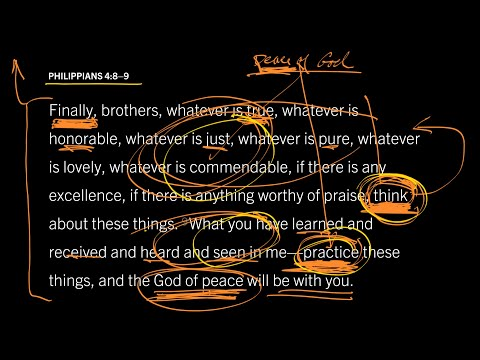 Philippians 4:89 // Part 1 // The Peace of God Does Not Produce Passivity