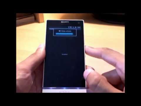 How to Open/Access Hidden Service Menu on Sony Xperia S - default