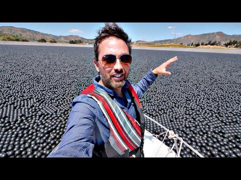 Why Are 96,000,000 Black Balls on This Reservoir? - UCHnyfMqiRRG1u-2MsSQLbXA