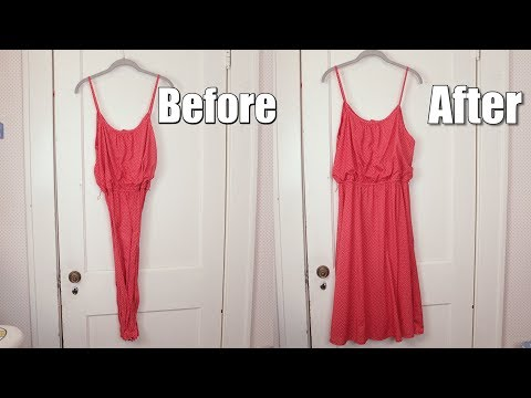 How To Fix The Static In A Cling Dress    TIPS AND TRICKS