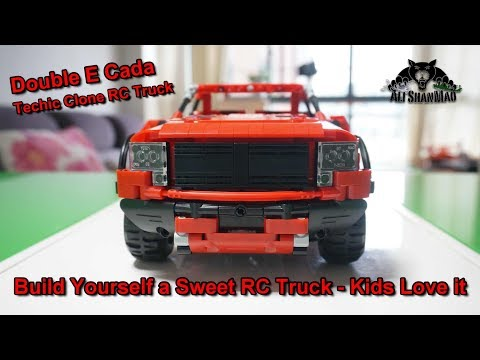 Build yourself RC Truck Technic RC Pickup Truck Time lapse Build - UCsFctXdFnbeoKpLefdEloEQ