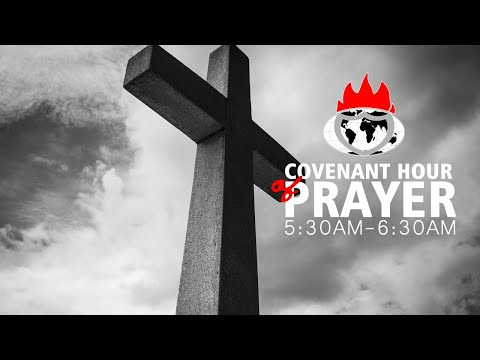 DOMI STREAM: COVENANT HOUR OF PRAYER  29, OCTOBER 2020