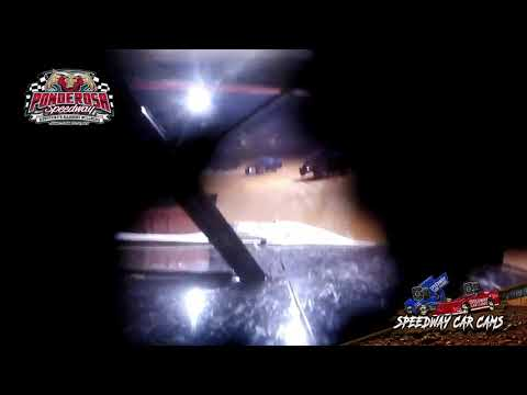 #1H Ben Harmon - Open Wheel - 8-6-21 Ponderosa Speedway - In-Car Camera - dirt track racing video image